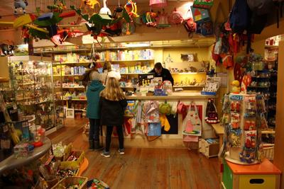 Een mooie speelgoedwinkel in Utrecht
